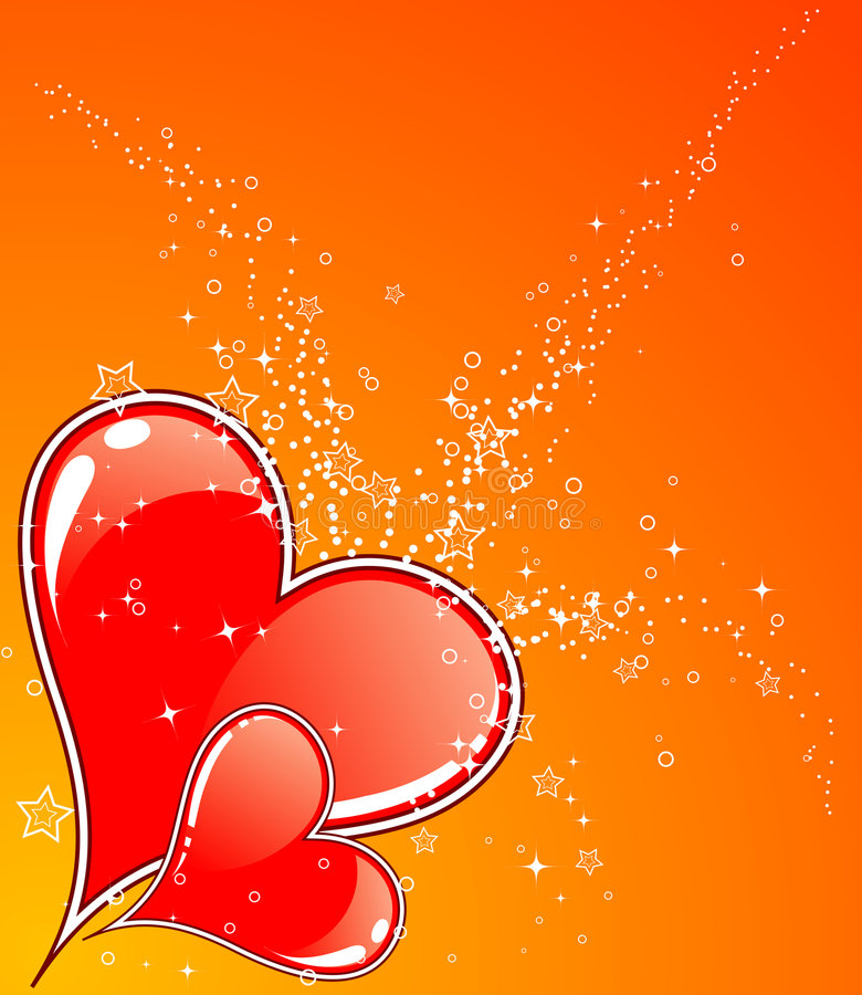 Download Priorità Bassa Di Giorno Dei Biglietti Di S. Valentino Con I Cuori Illustrazione Vettoriale - Illustrazione di valentines, creativo: 3887280