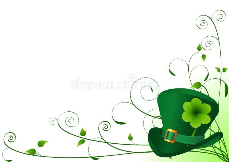 Priorità bassa di giorno della st Patrick?s illustrazione vettoriale