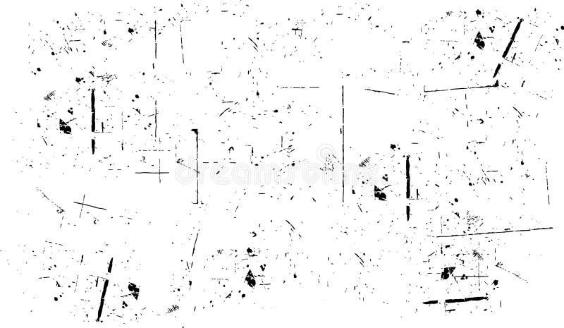 Priorità bassa di Grunge illustrazione vettoriale