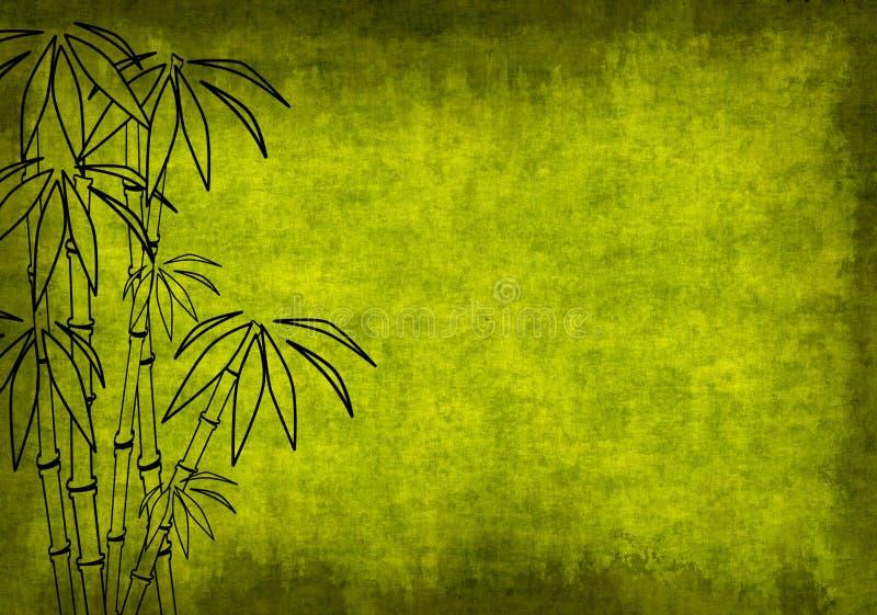 Priorità bassa di Grunge di colore verde illustrazione di stock