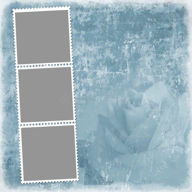 Priorità bassa di Grunge per il blocco per grafici o altro della foto disegno royalty illustrazione gratis