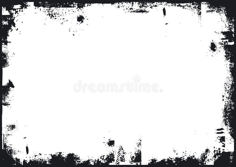 Priorità bassa di Grunge, vettore illustrazione di stock