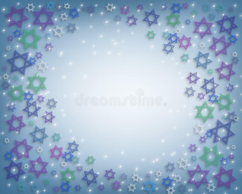 Priorità bassa di Hanukkah royalty illustrazione gratis