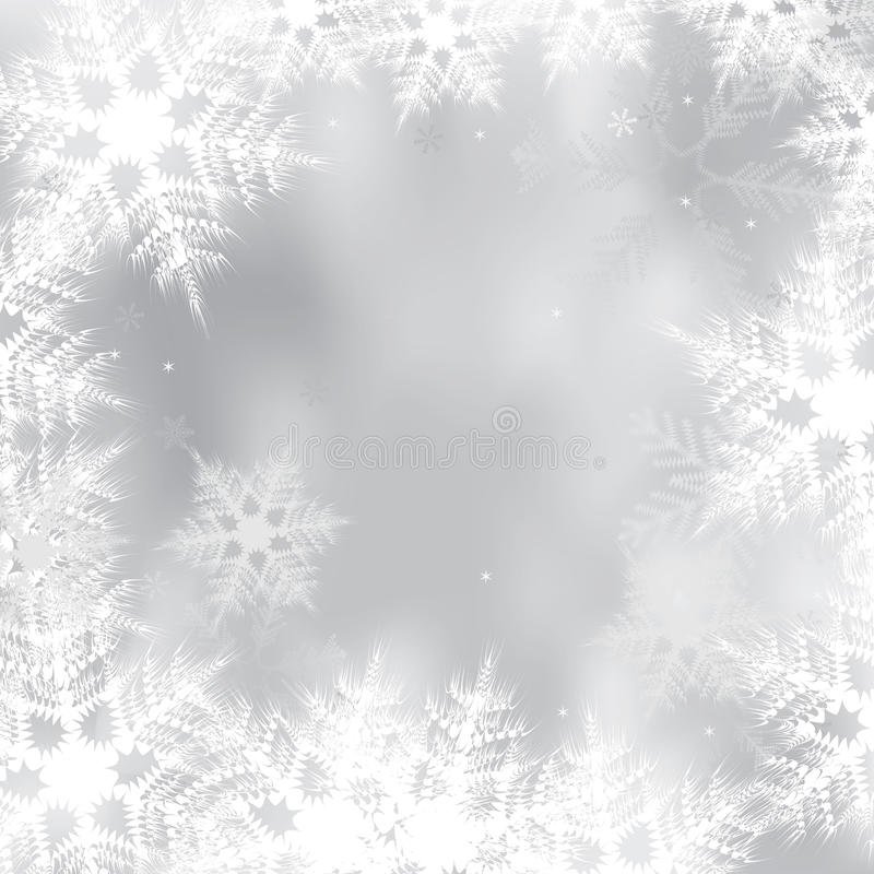 Priorità bassa di inverno illustrazione vettoriale