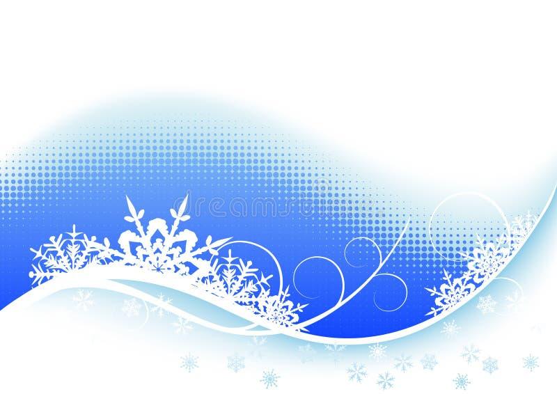 Download Priorità bassa di inverno illustrazione vettoriale. Illustrazione di festival - 7308073