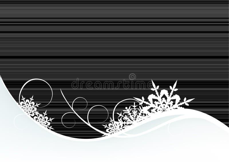 Download Priorità Bassa Di Inverno, Fiocchi Di Neve Illustrazione Vettoriale - Illustrazione di decorativo, decori: 7308201
