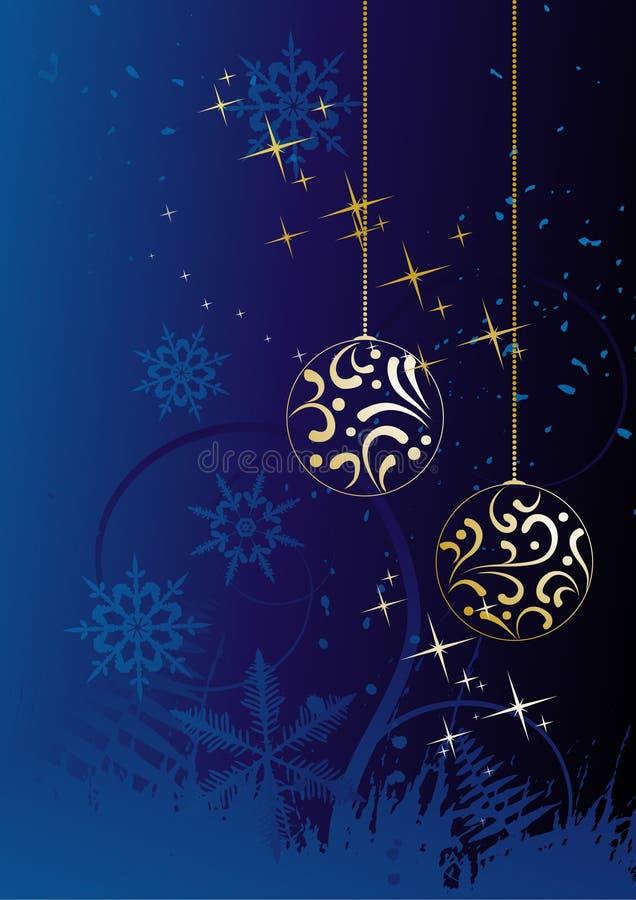 Download Priorità Bassa Di Inverno, Fiocchi Di Neve Illustrazione Vettoriale - Illustrazione di estratto, bauble: 7308213