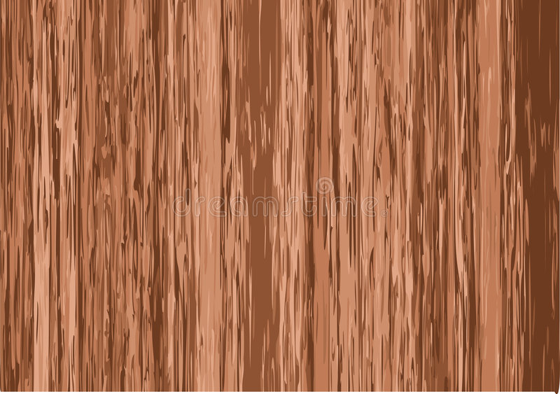 Priorità bassa di legno illustrazione di stock
