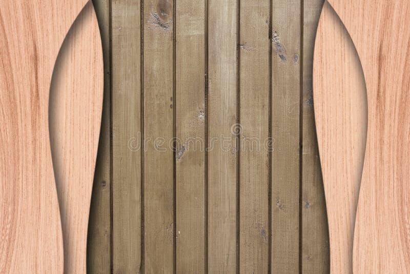 Priorità bassa di legno astratta illustrazione vettoriale
