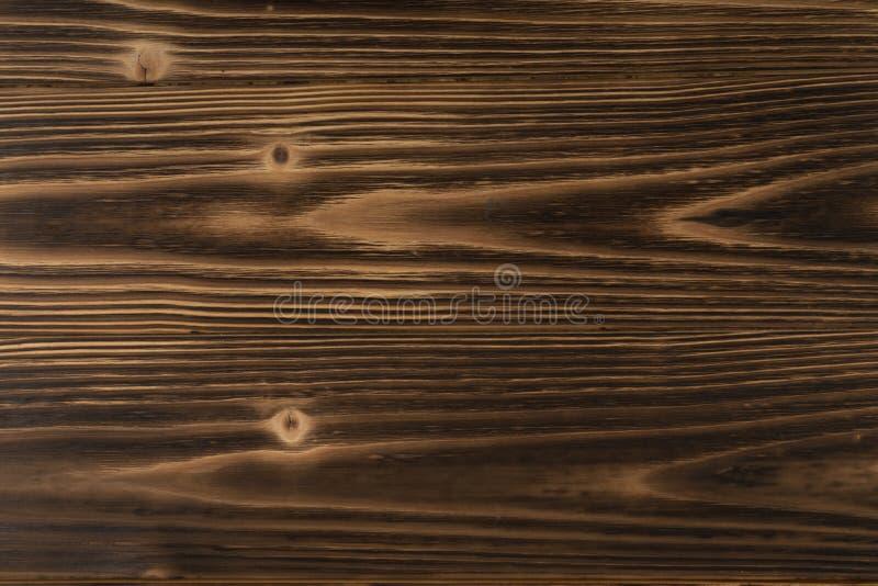 Priorità bassa di legno bruciata fotografia stock libera da diritti