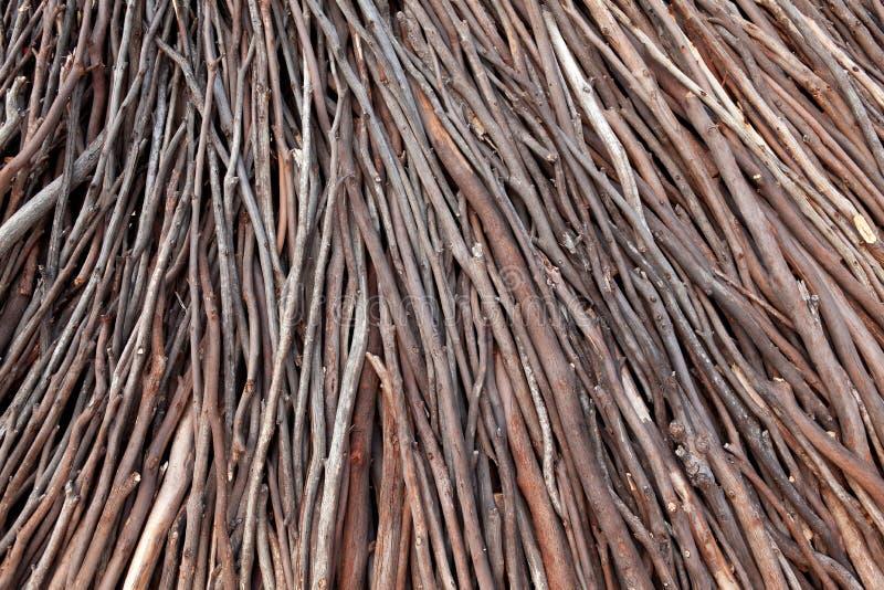 Priorità bassa di legno del bastone immagini stock libere da diritti
