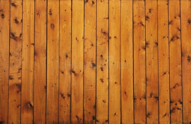 Priorità bassa di legno dorata marrone di struttura dell'annata fotografia stock libera da diritti