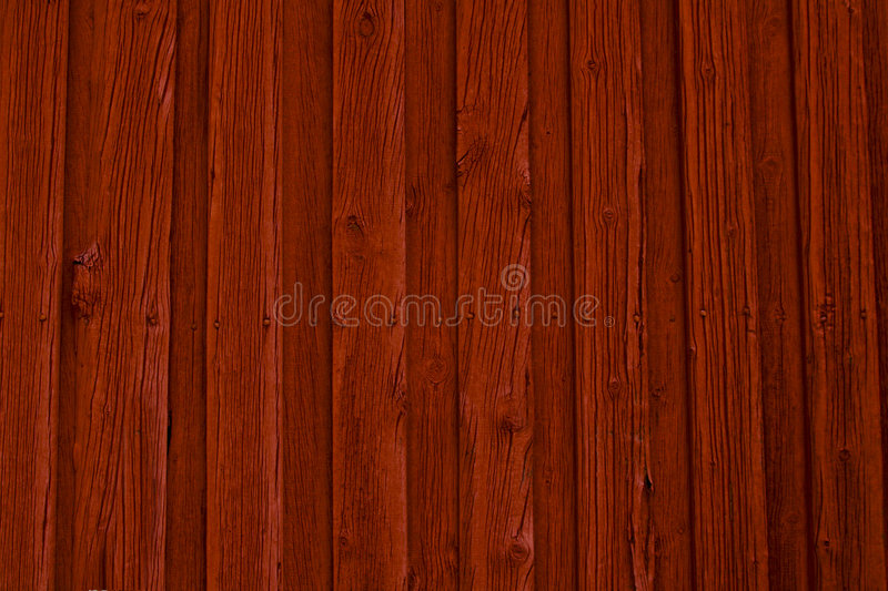 Priorità bassa di legno rossa della parete immagine stock libera da diritti