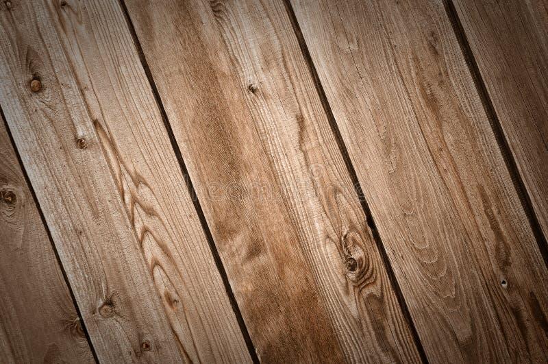 Priorità bassa di legno scura della rete fissa fotografia stock libera da diritti