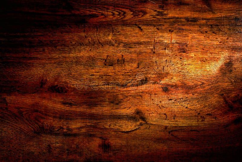 Priorità bassa di legno veduta approssimativa di Grunge immagine stock