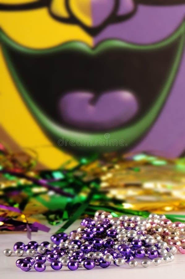 Priorità bassa di Mardi Gras fotografie stock libere da diritti