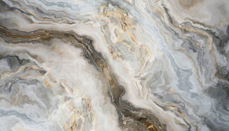 Priorità bassa di marmo bianca illustrazione di stock
