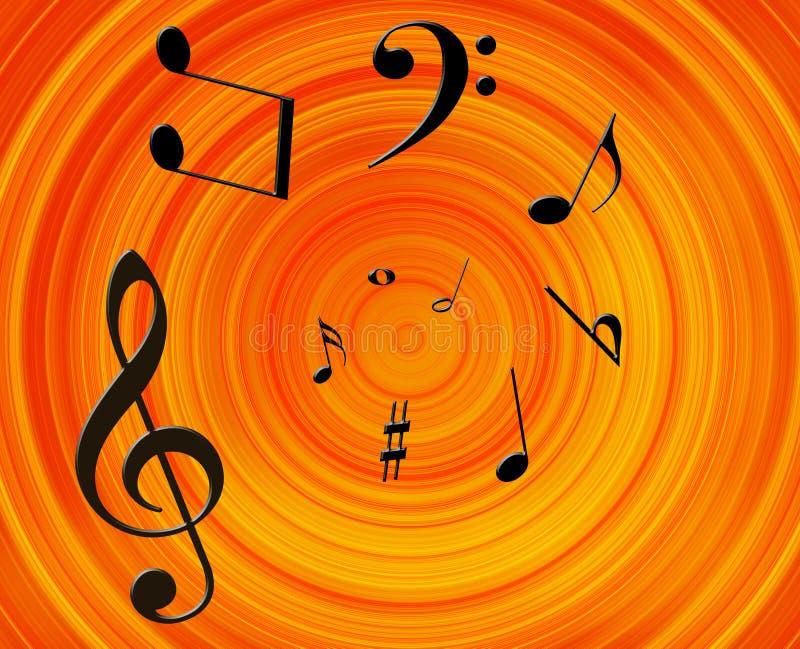 Priorità bassa di musica royalty illustrazione gratis