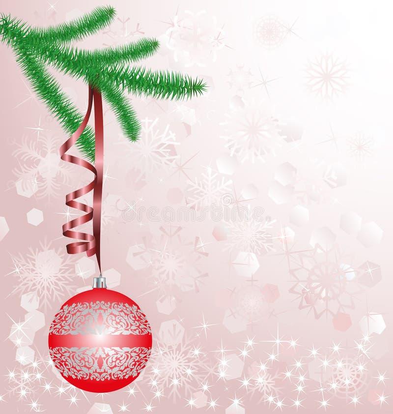 Priorità Bassa Di Natale Fotografie Stock