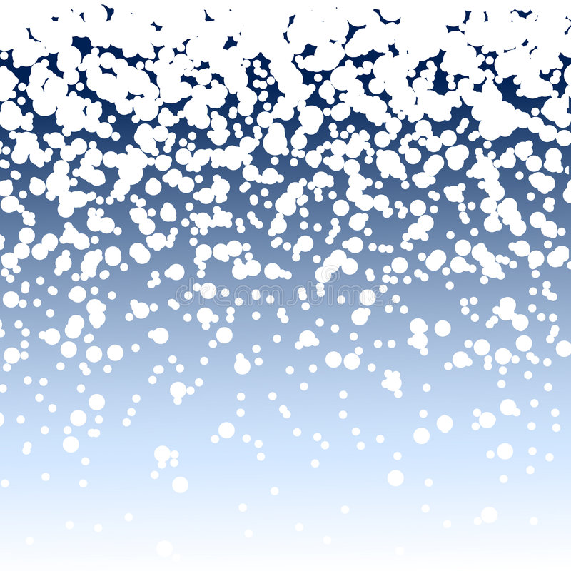 Priorità bassa di nevicata illustrazione di stock