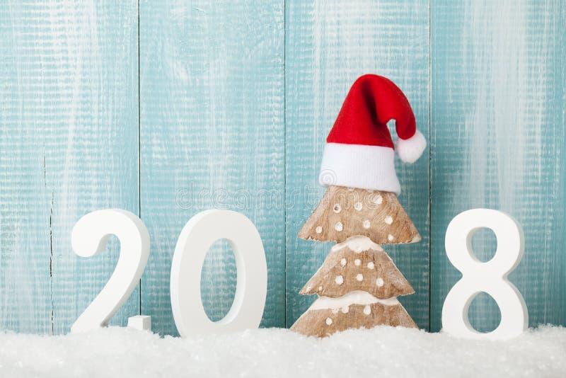 Priorità bassa di nuovo anno felice fotografie stock libere da diritti