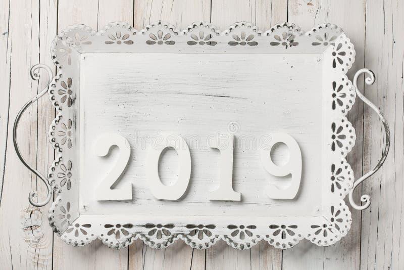Priorità bassa di nuovo anno felice immagini stock