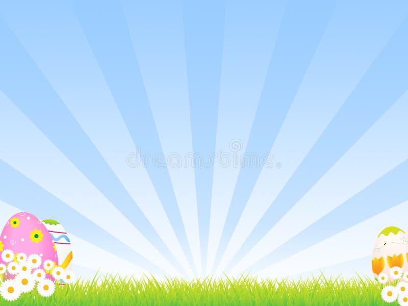 Priorità bassa di Pasqua illustrazione vettoriale