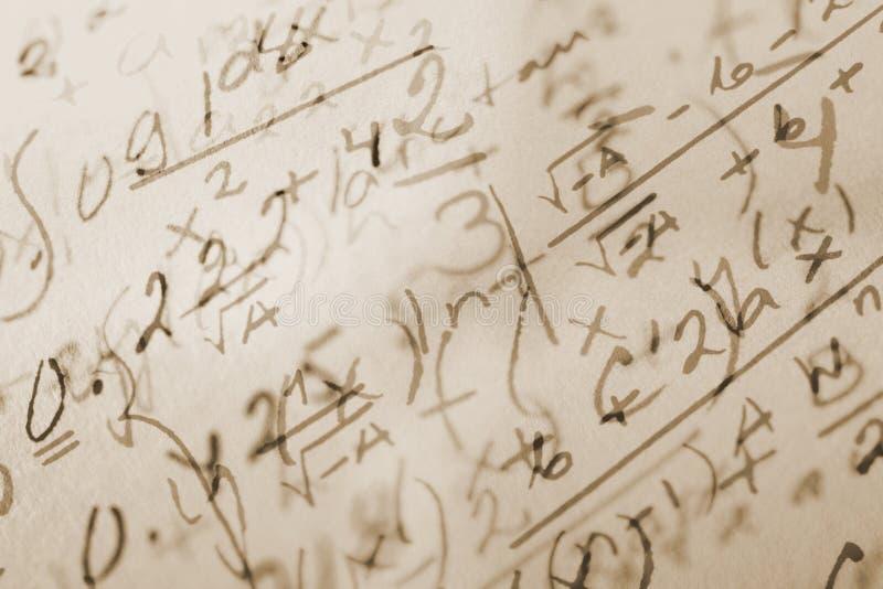 Priorità bassa di per la matematica immagini stock
