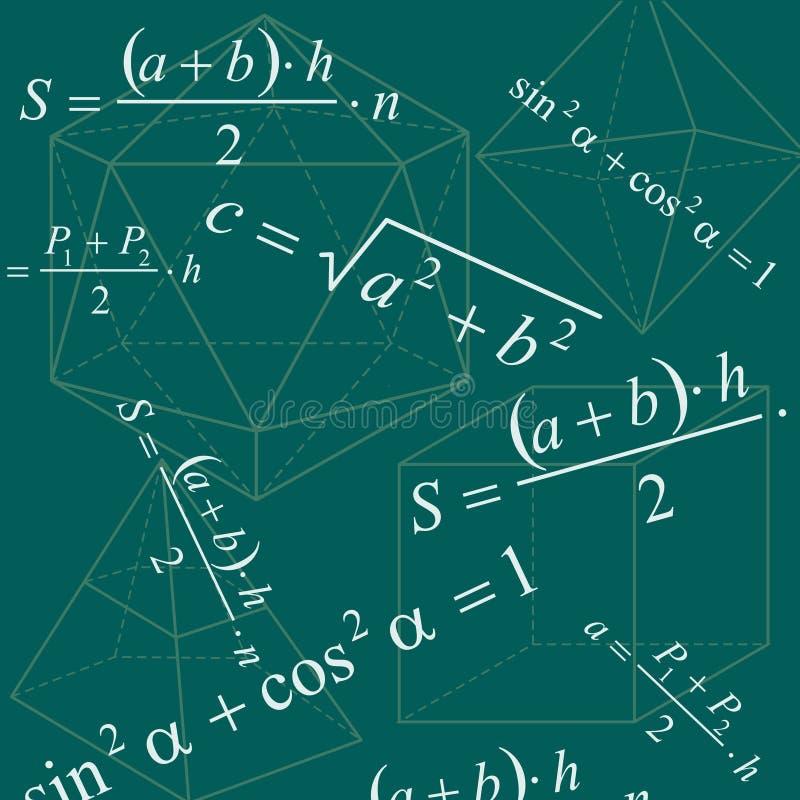 Priorità bassa di per la matematica illustrazione vettoriale