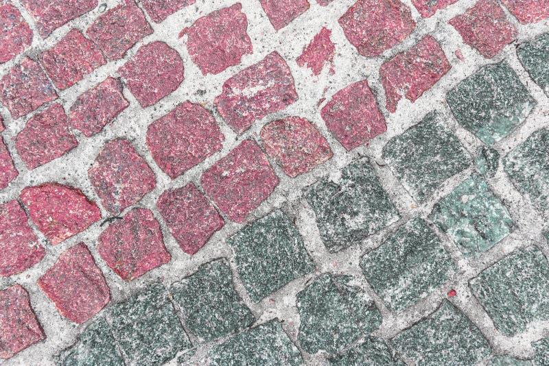 Priorità bassa di pietra colorata fotografia stock