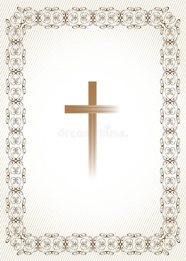 Priorità bassa di religione illustrazione vettoriale