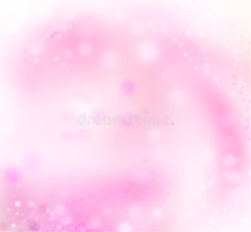 Priorità bassa di rosa dell'indicatore luminoso di festa dell'estratto di arte immagine stock libera da diritti