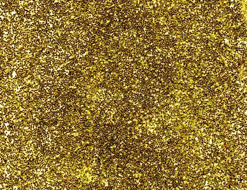 Priorità bassa di scintillio dell'oro. immagini stock