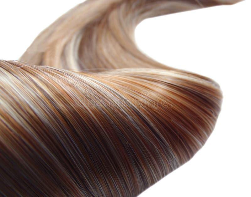 Priorità bassa di struttura dei capelli di punto culminante immagine stock libera da diritti