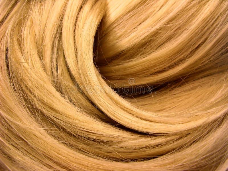 Priorità bassa di struttura dei capelli scuri immagini stock