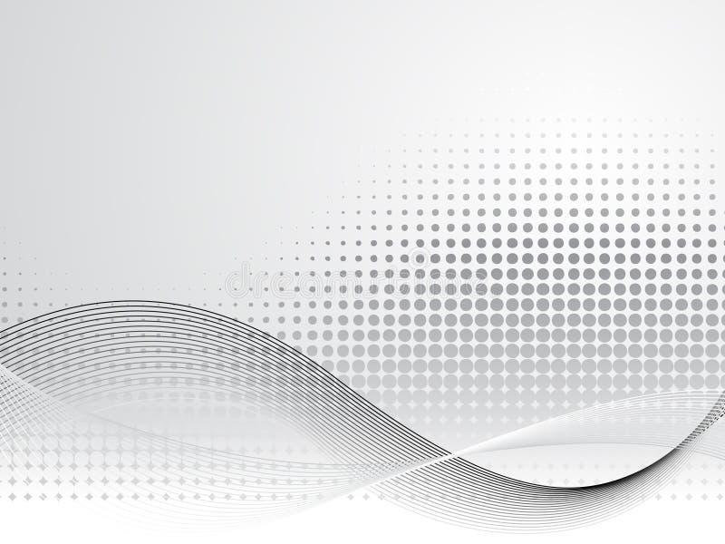 Priorità bassa di tecnologia di affari corporativi illustrazione vettoriale