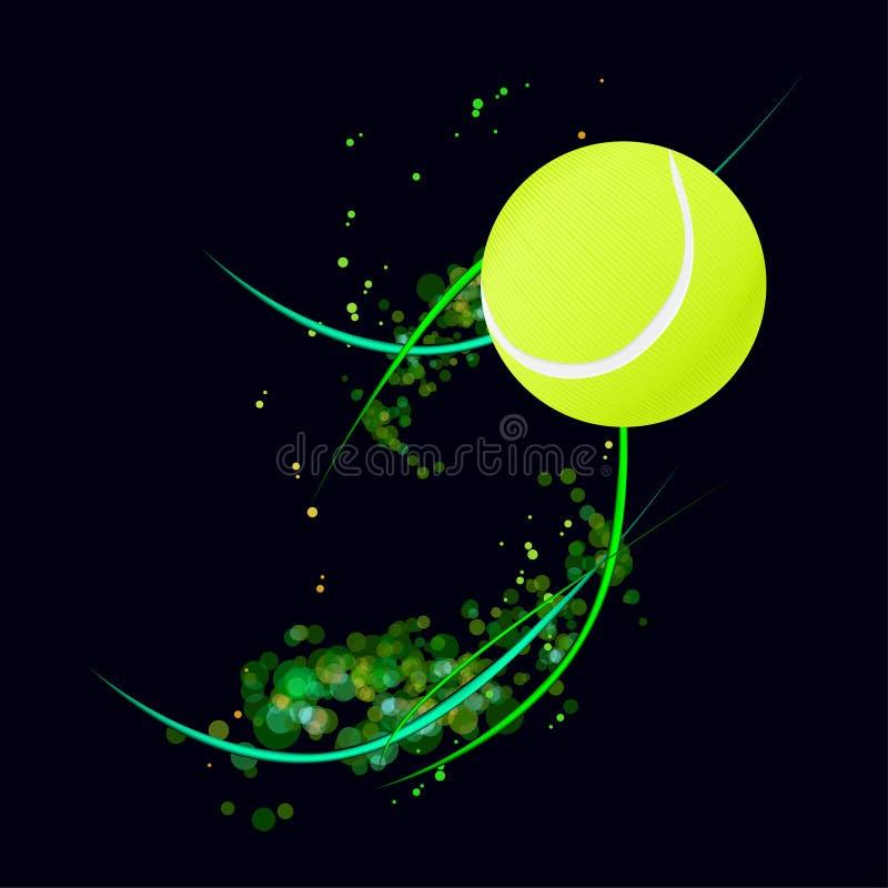 Priorità bassa di tennis royalty illustrazione gratis
