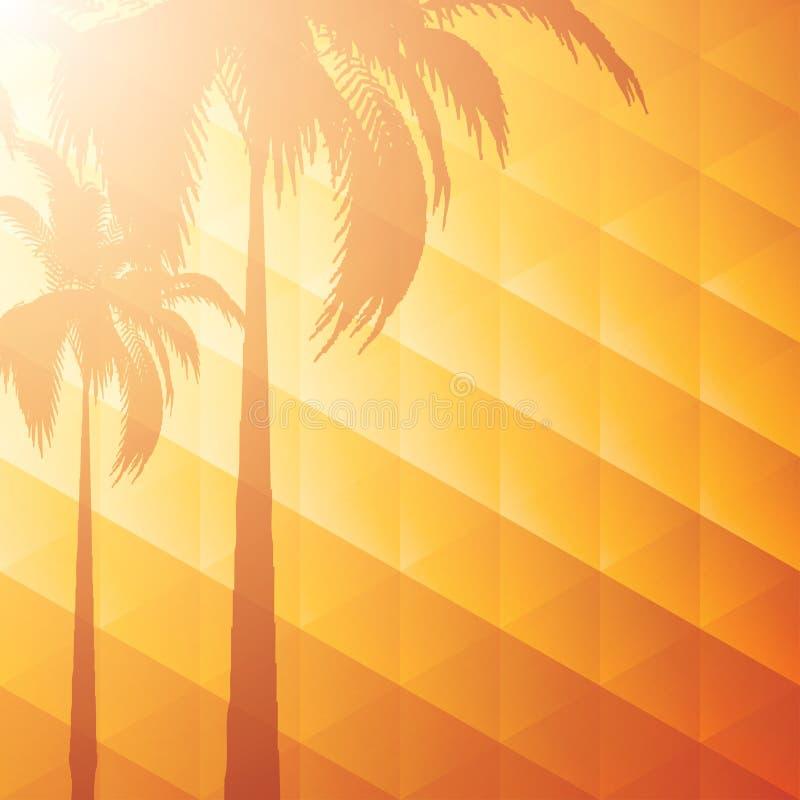 Priorità bassa di vacanza estiva illustrazione di stock