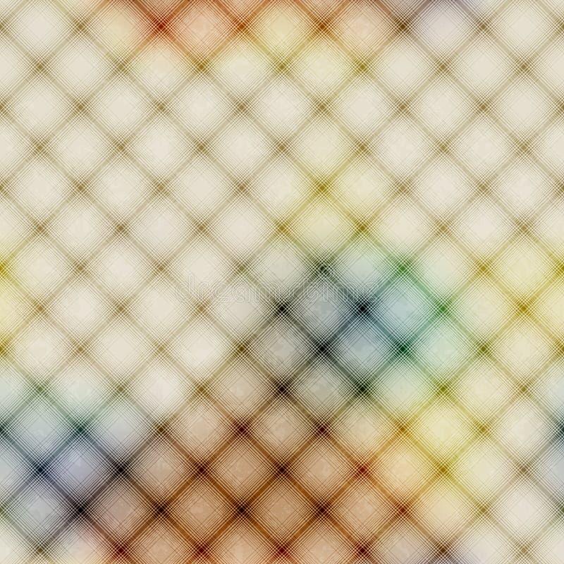 Priorità bassa diagonale del plaid illustrazione di stock