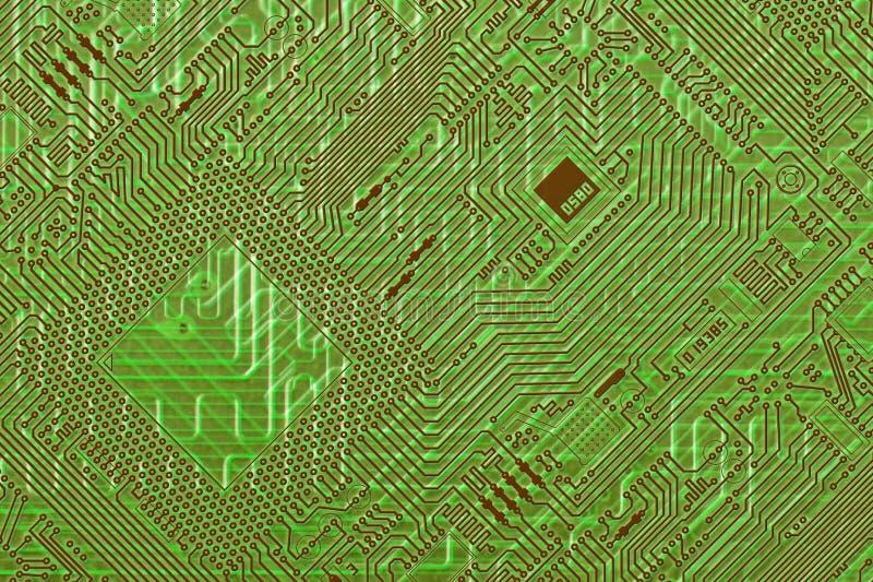 Priorità bassa diagonale fantastica verde del circuito illustrazione vettoriale