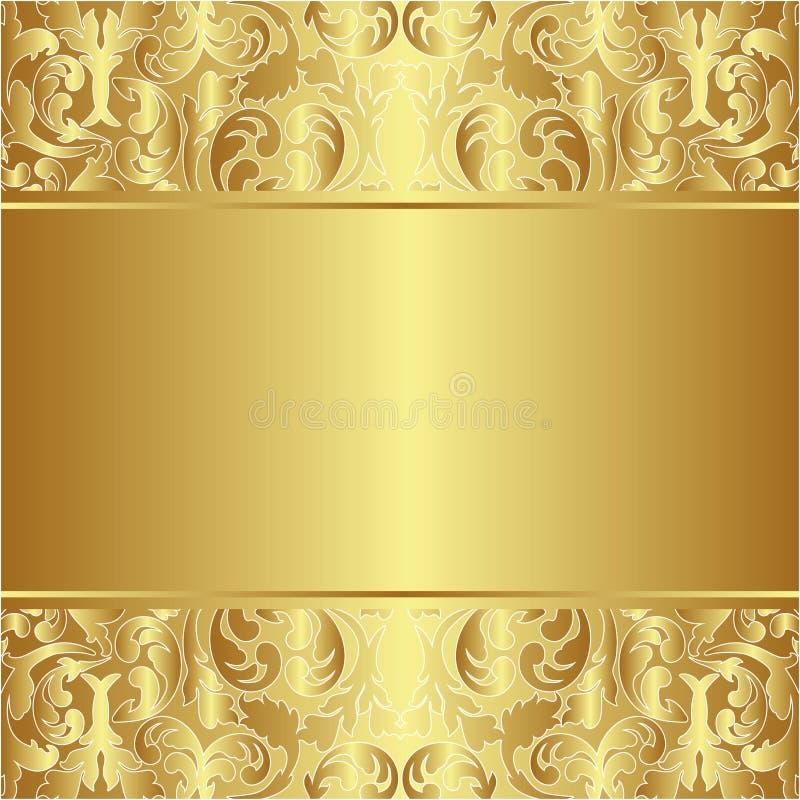 Priorità bassa dorata royalty illustrazione gratis