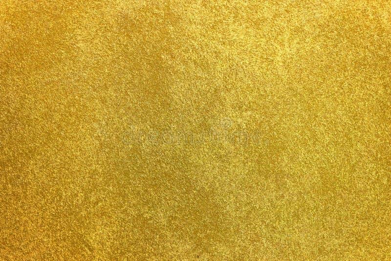 Priorità bassa dorata di struttura Oro d'annata immagini stock libere da diritti