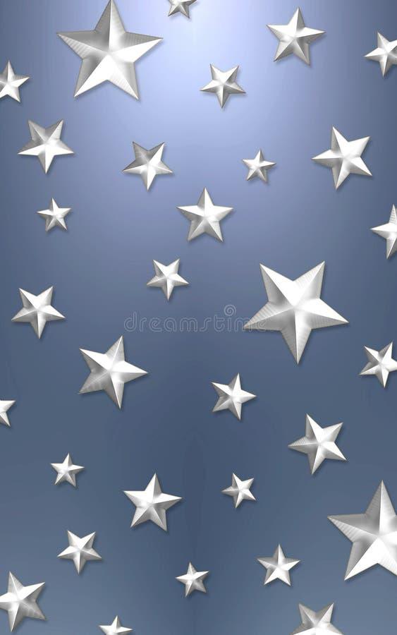 Priorità bassa elegante della stella fotografia stock libera da diritti
