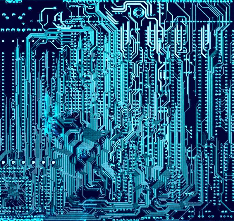 Priorità bassa elettronica astratta immagine stock libera da diritti