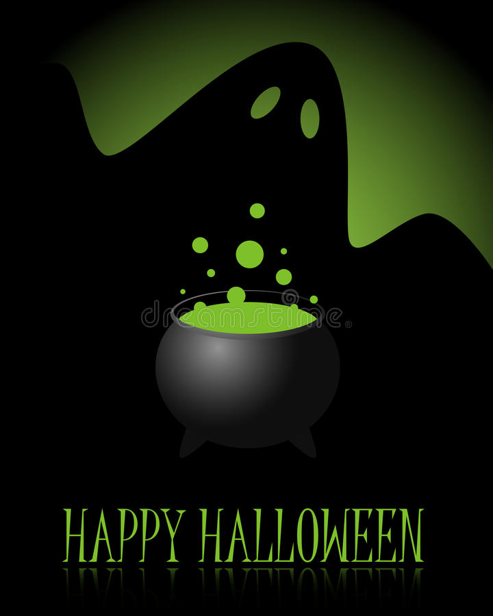 Priorità bassa felice di Halloween illustrazione vettoriale