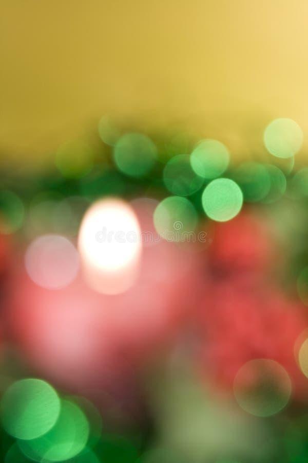 Priorità bassa festiva De-focused fotografie stock