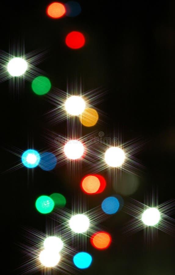 Priorità bassa festiva degli indicatori luminosi immagini stock libere da diritti