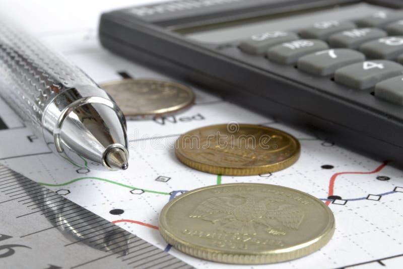 Priorità bassa finanziaria fotografie stock