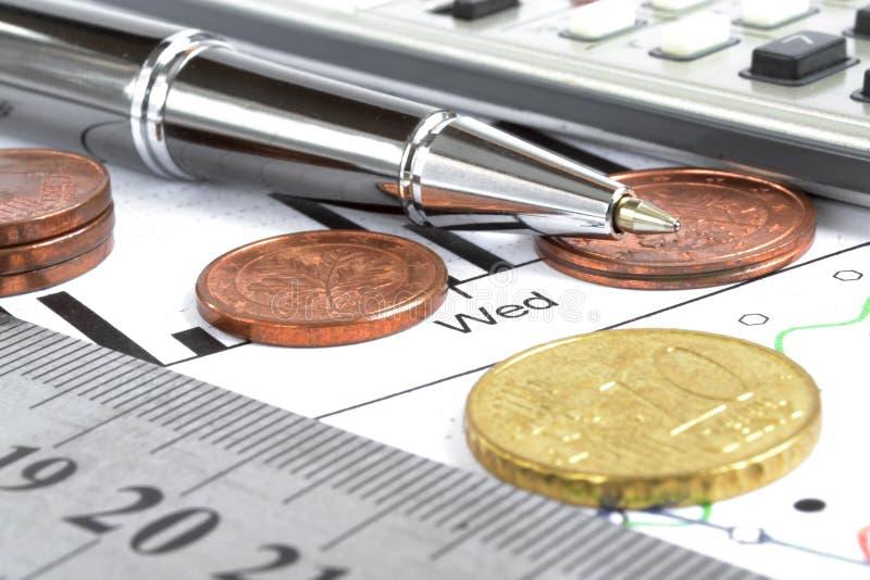 Priorità bassa finanziaria immagini stock