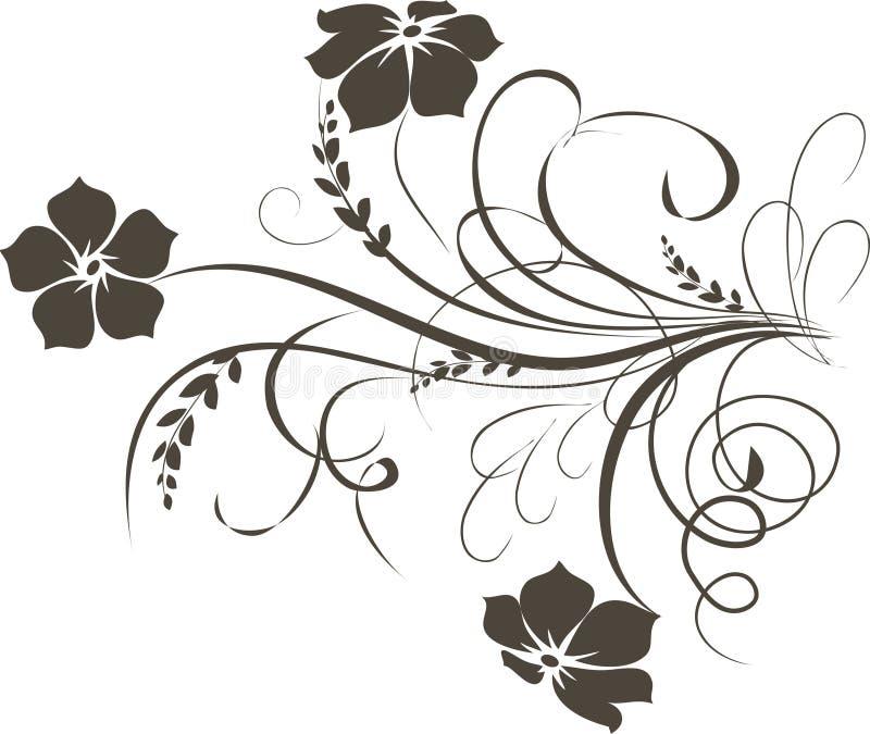 Priorità bassa floreale illustrazione vettoriale